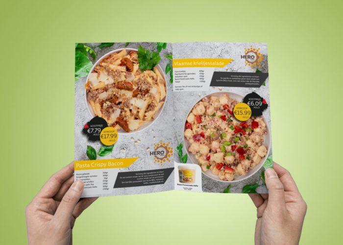 Brochure met recepten