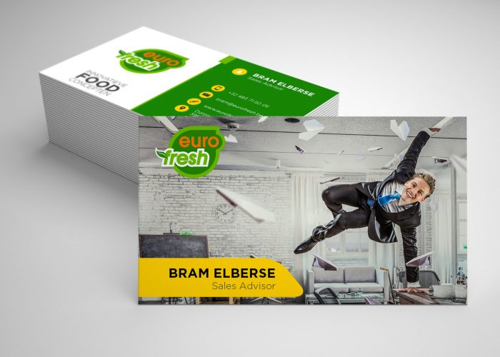 Business Card - Bram Mockup1