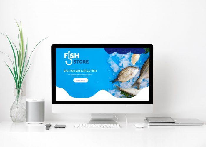 Fish Shore - Mac Mockup