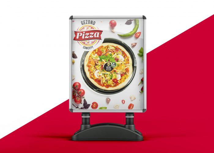 Gezond Pizza concept