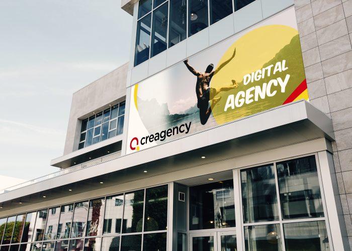 Outdoor Ad - Creagency