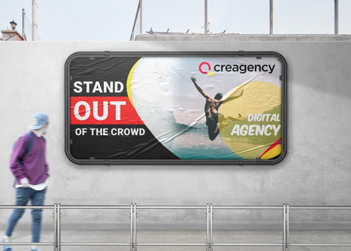 Stand out of the crowd - Creagency